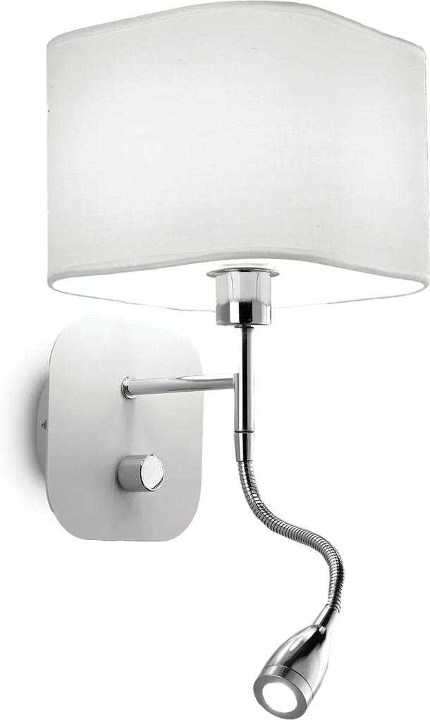 Aplica-HOLIDAY-AP2-BIANCO-124162-Ideal-Lux