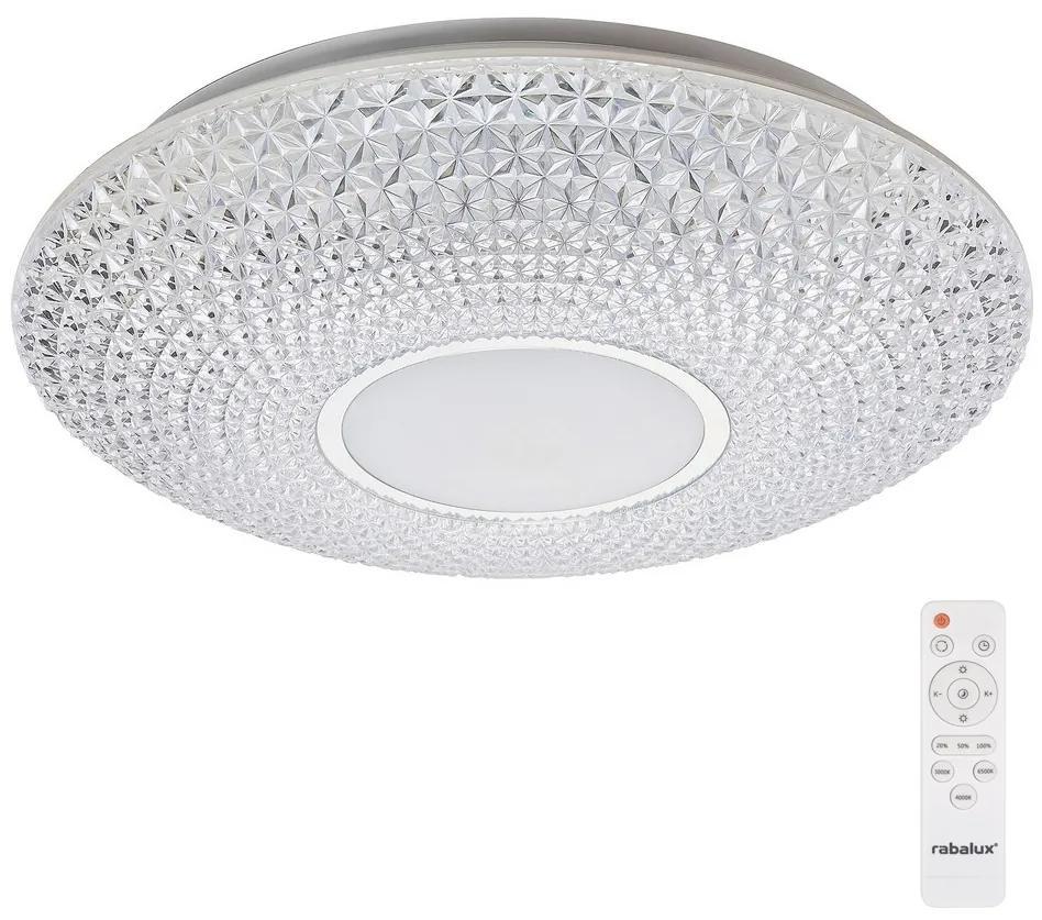 Rabalux 1518 - Plafonieră LED dimmabilă cu telecomandă CORALIA LED/48W/230V