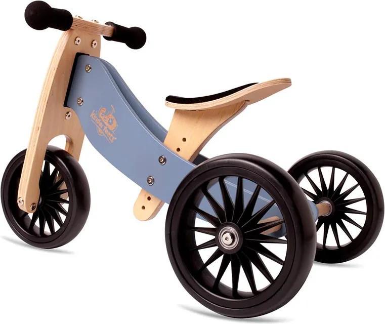 Bicicleta albastra de echilibru fara pedale Tiny Tot Plus - Kinderfeets