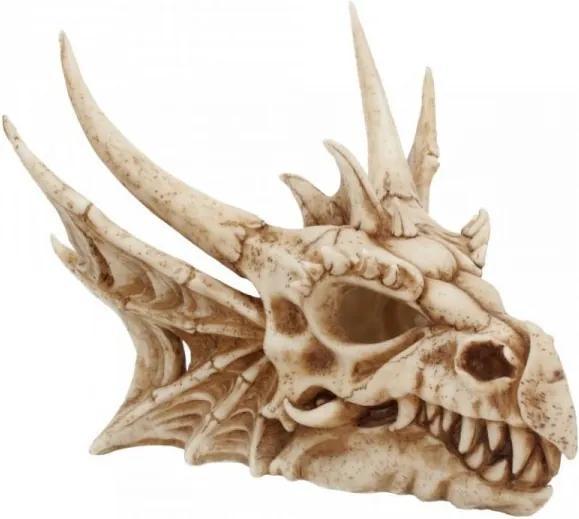 Statueta craniu de dragon Lumo 25cm