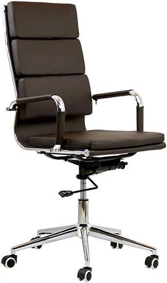 Scaun ergonomic OFF 808 Maro   Resigilat