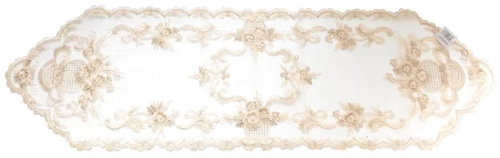 Napron decorativ Beige 40 x 150 cm