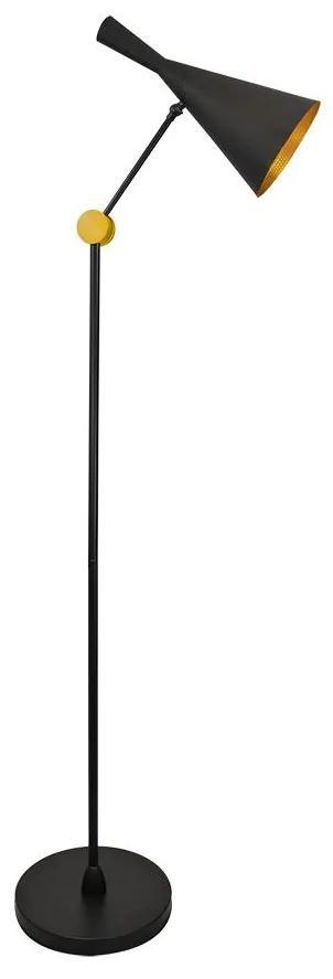 Lampadar MODERN 1xE27/20W/230V negru