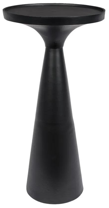 Masuta neagra Ø28 cm Floss