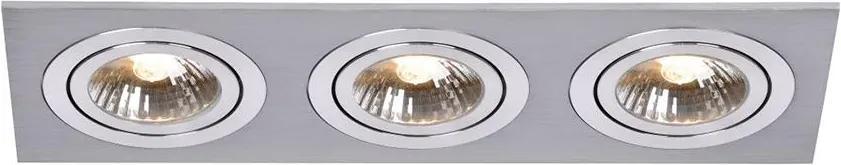 Lucide 28901/03/12 - Lampa incastrata CHATTY 3xGU10/50W/230V