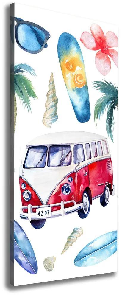 Print pe canvas Set surfer