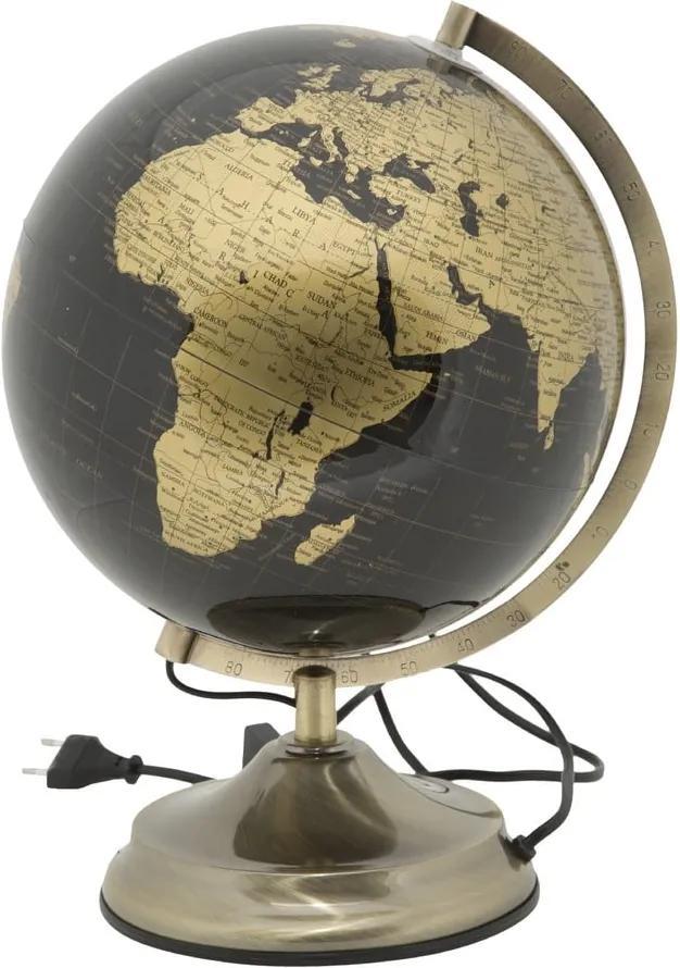 Veioză Mauro Ferretti Globe Bronze, ø 25 cm, formă glob