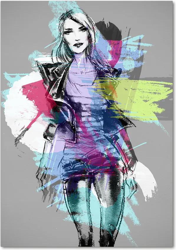 Tablou acrilic Abstracție femeie