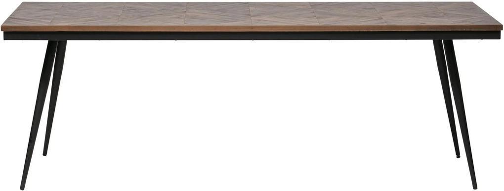 Masa dining Rhombic 76x220x90 cm - Tec
