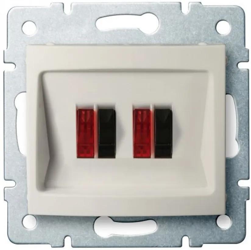 Kanlux 25174 Conector priză Logi crem