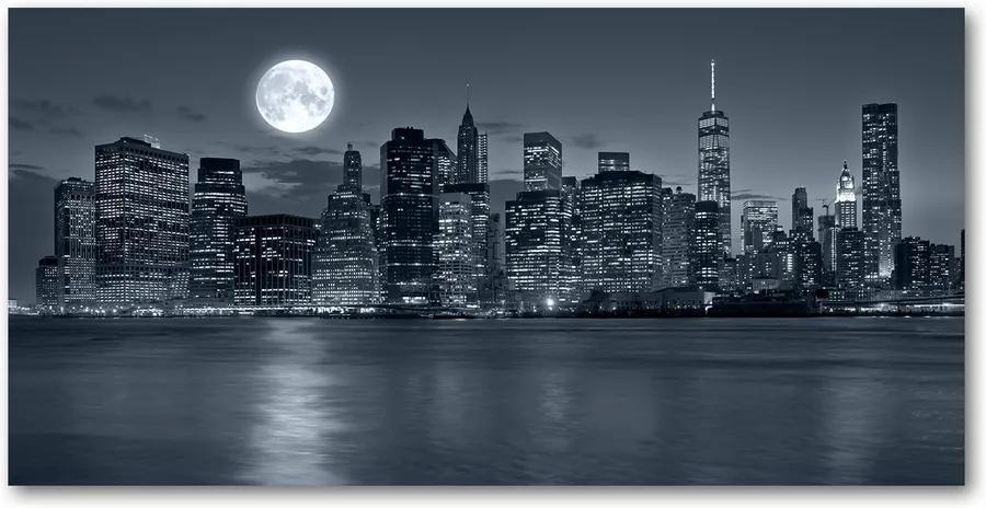 Tablou pe acril New York, pe timp de noapte