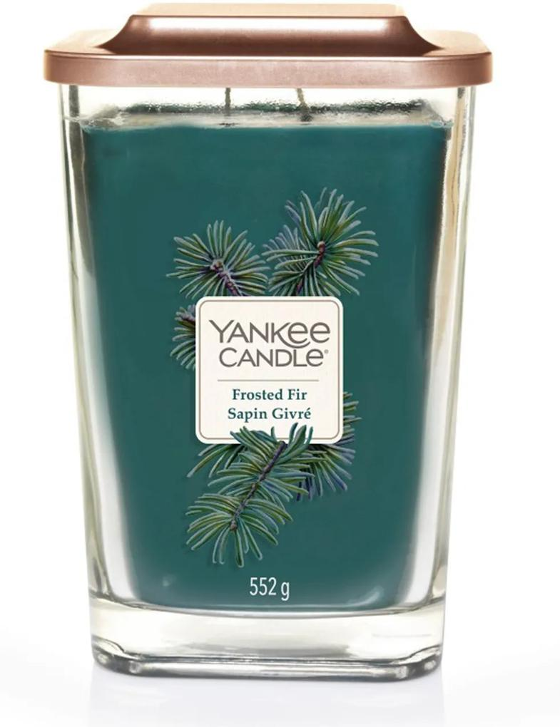Yankee Candle lumanare parfumata Elevation Frosted Fir pătrata mare 2 fitile