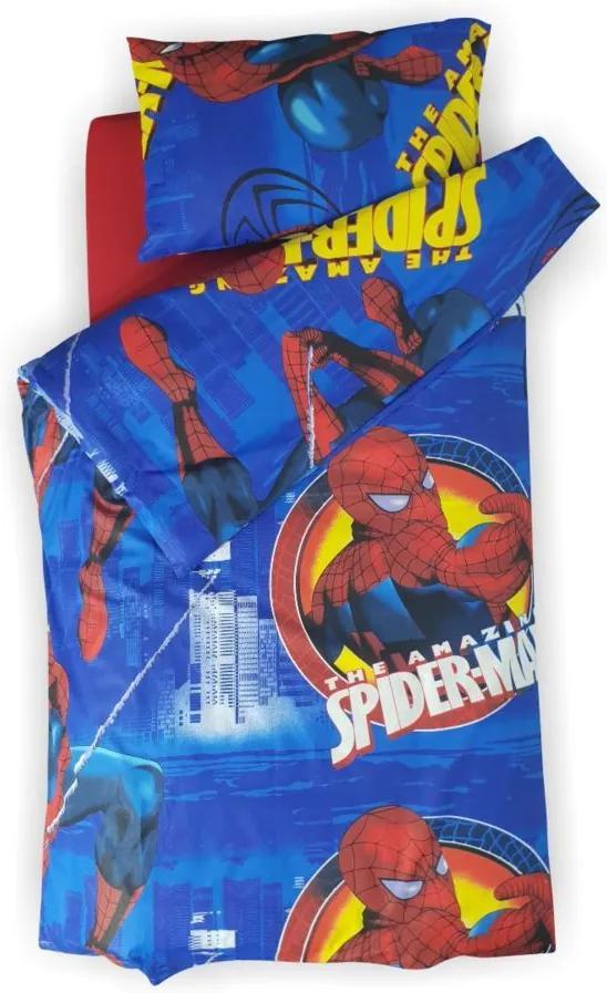Lenjerie pat copii Spider Man 2-12 ani