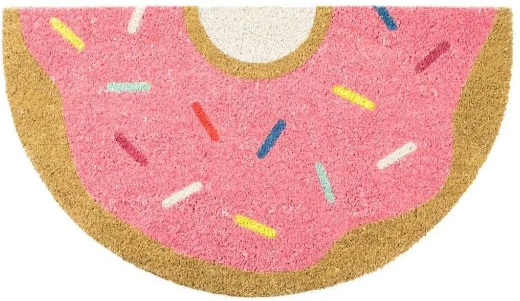 """Covoras intrare """"Donut"""" - Roz"""