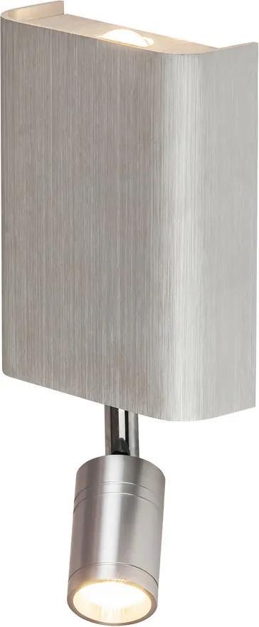 Rábalux 6540 Aplice perete de citit Benett aluminiu metal LED 6W 185lm 2800K IP20 A+