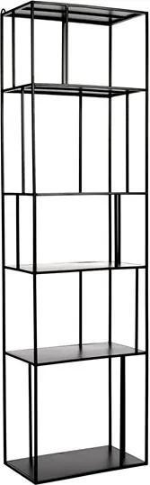 Etajera neagra din fier 179 cm Shelf Pols Potten