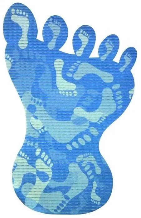 Covoras baie din spuma poliuretanica Sole albastru