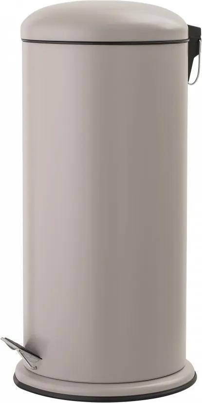 Cos de gunoi crem cu sistem inchidere usor 29,5x68 cm Bloomingville