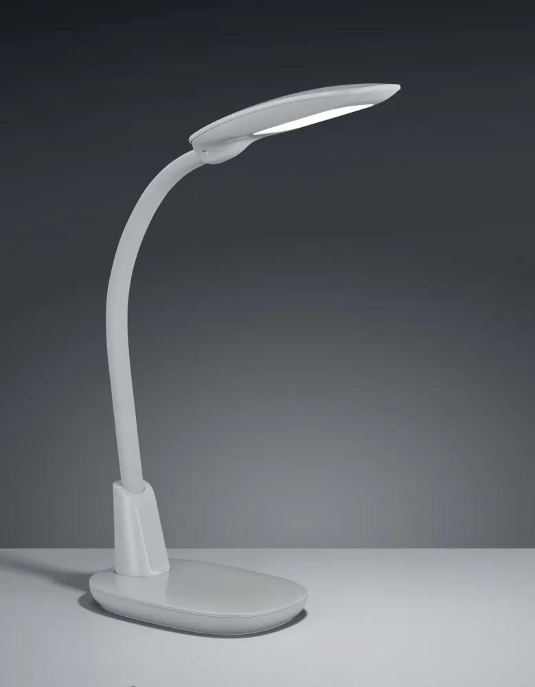 Trio 525690111 Lampi de masa LED GRANDE gri plastic incl. 1 x SMD, 9W, 3000+4000+5000K, 1300Lm 1300lm 3000K IP20 A++