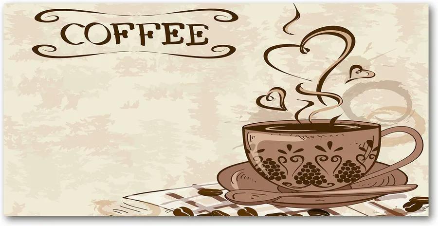 Tablou din Sticlă Cafea aromatică