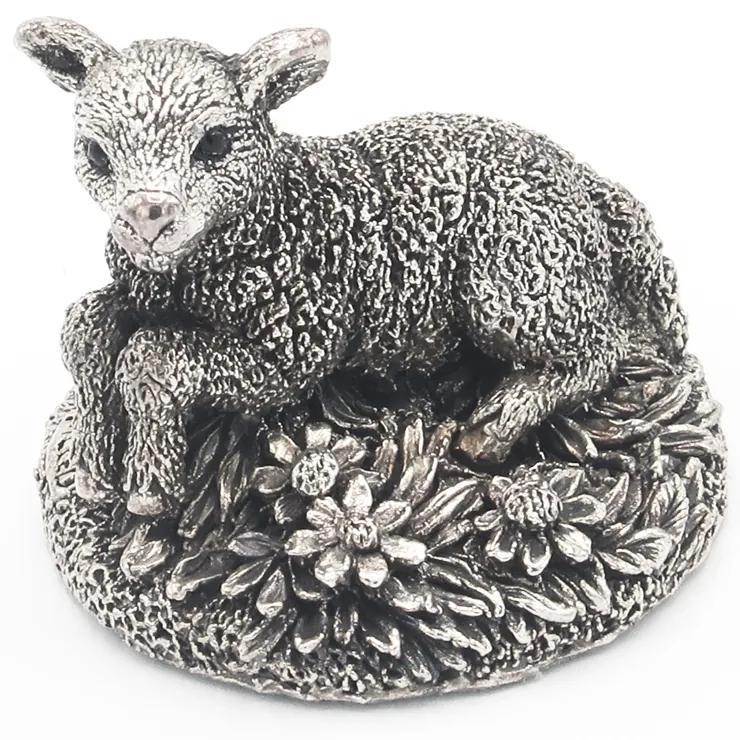 Decoratiune miel Portelan/Argint
