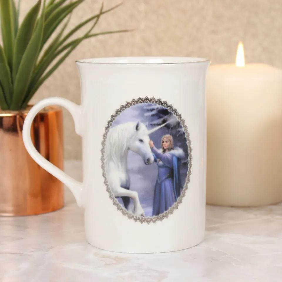 Cana ceramica zana cu unicorn Magie Pura - Anne Stokes