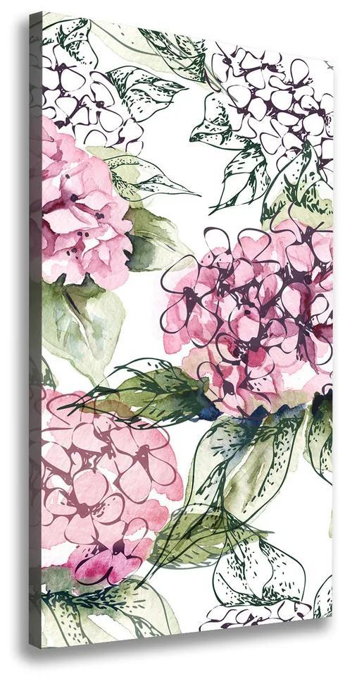 Imprimare tablou canvas Hortensie