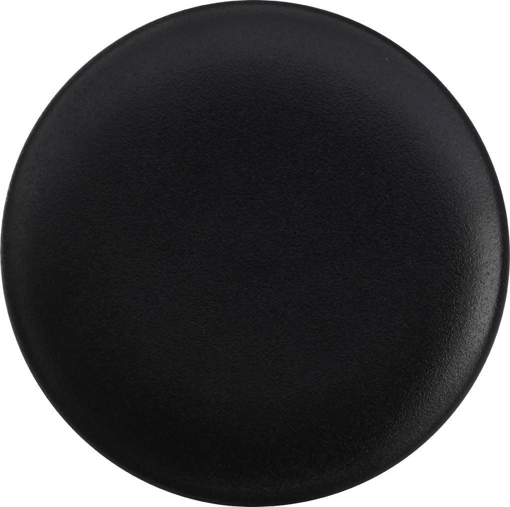 Farfurie desert 20 cm, culoare neagră - ediție Caviar - Maxwell & Williams