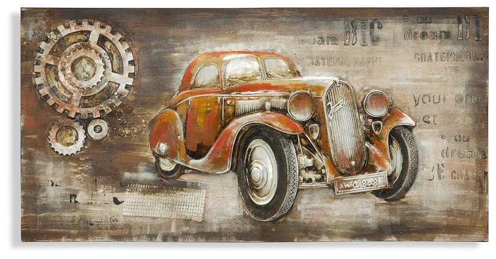 Tablou Auto D'Epoca 120x3.7x60