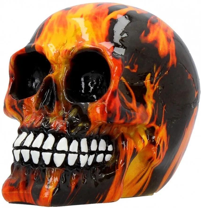 Statueta craniu Infern 11 cm
