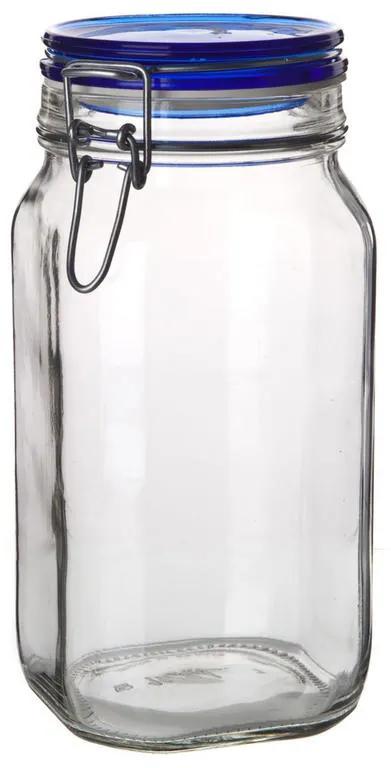 BANQUET Borcan din sticlă cu închidere clip 1,5 l