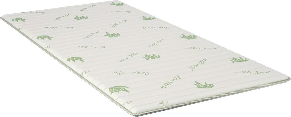 Top saltea iSleep Smart Topper Aloe 90x200cm, inaltime 3cm