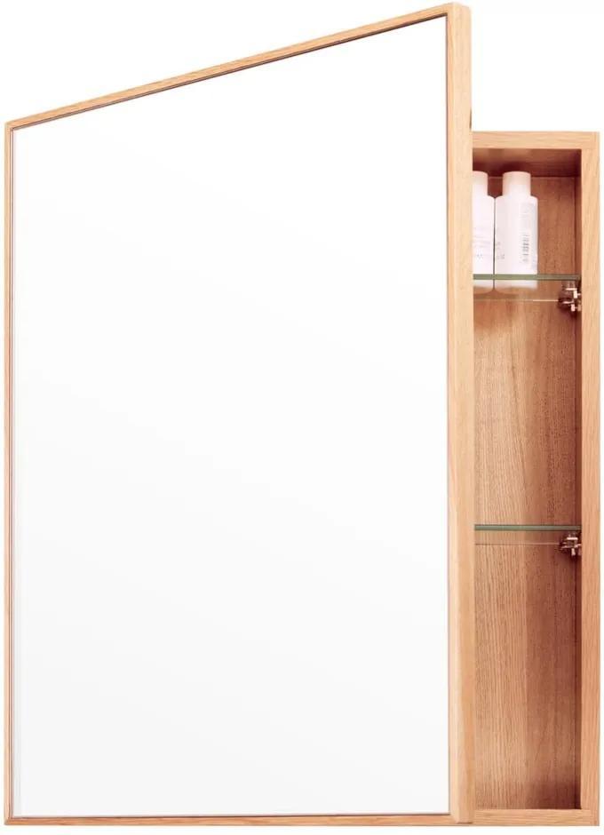 Dulap de perete cu oglindă Wireworks Mezza, 45 x 55 cm