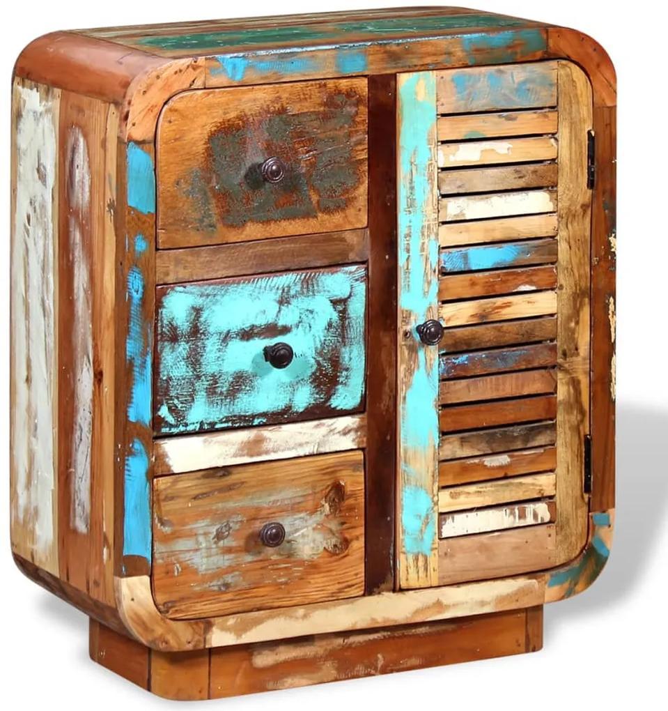 244233 vidaXL Servantă din lemn masiv reciclat