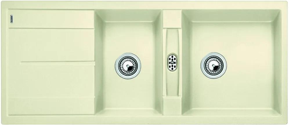 Chiuveta de bucatarie Blanco METRA 8 S silgranit, jasmin, 513065, 116 cm