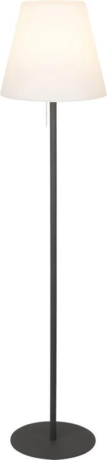 Rábalux Lida 8659 Lampadare exterior negru alb 1 x E27 max. 23W 150 x 35 x 35 cm