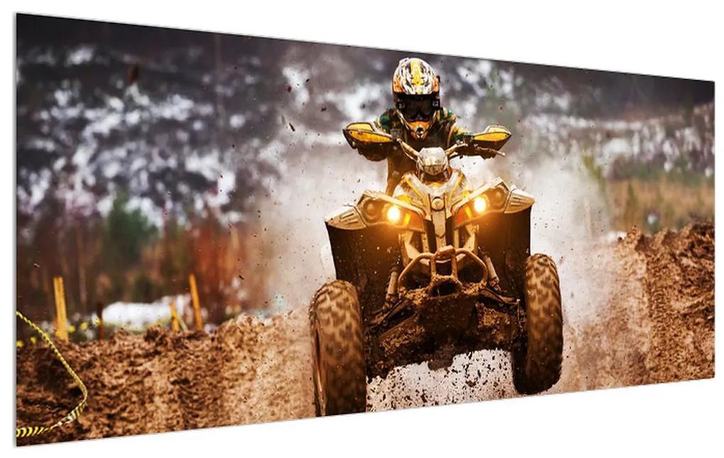 Tablou cu șofer pe ATV (K012426K12050)