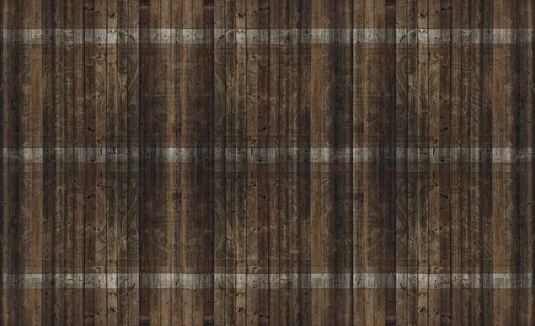 Wood Planks Fototapet, (416 x 254 cm)
