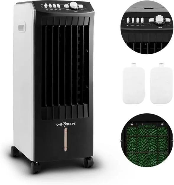 OneConcept MCH-1 v2 intercooler aer conditionat V2 Ventilator3-in-1 Mobile 65W