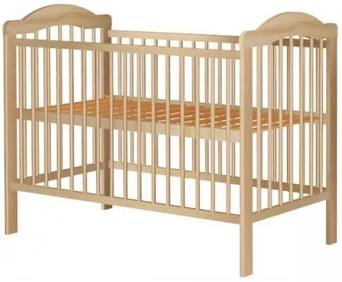 Hubners Patut copii din lemn Lizett 120x60 cm natur