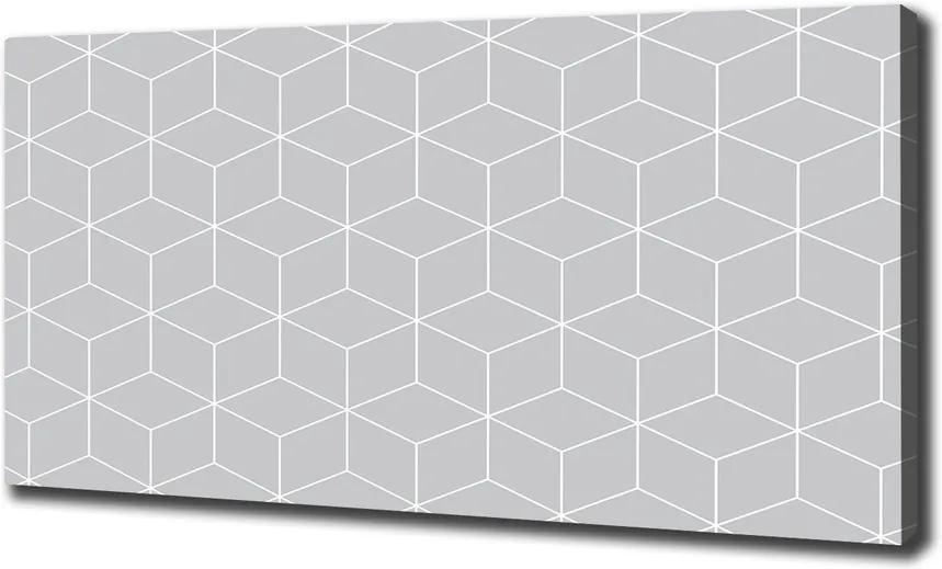 Tablou pe pânză Fundal geometrică