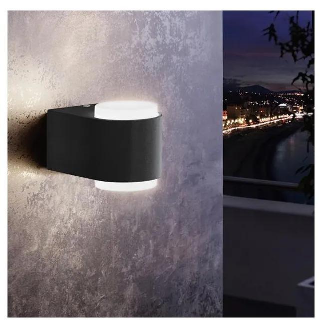 Eglo 78602 - LED Aplică perete exterior BRIONES 2xLED/3W/230V IP44