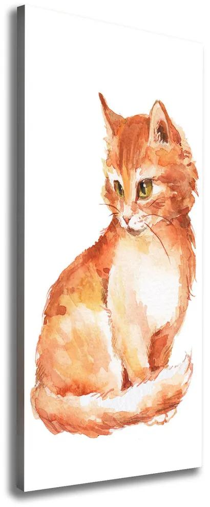 Tablou canvas Red Cat