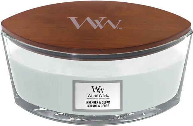 WoodWick parfumata lumanare barca