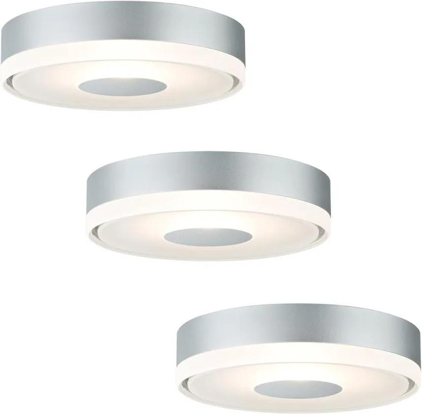 Paulmann 92542 - SET 3xLED/4W lampă încasttrată PREMIUM LINE 230V/12V