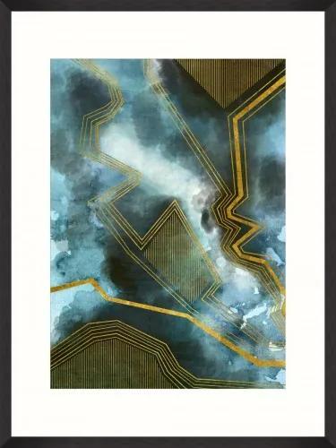 Tablou Framed Art Gold Thunders I