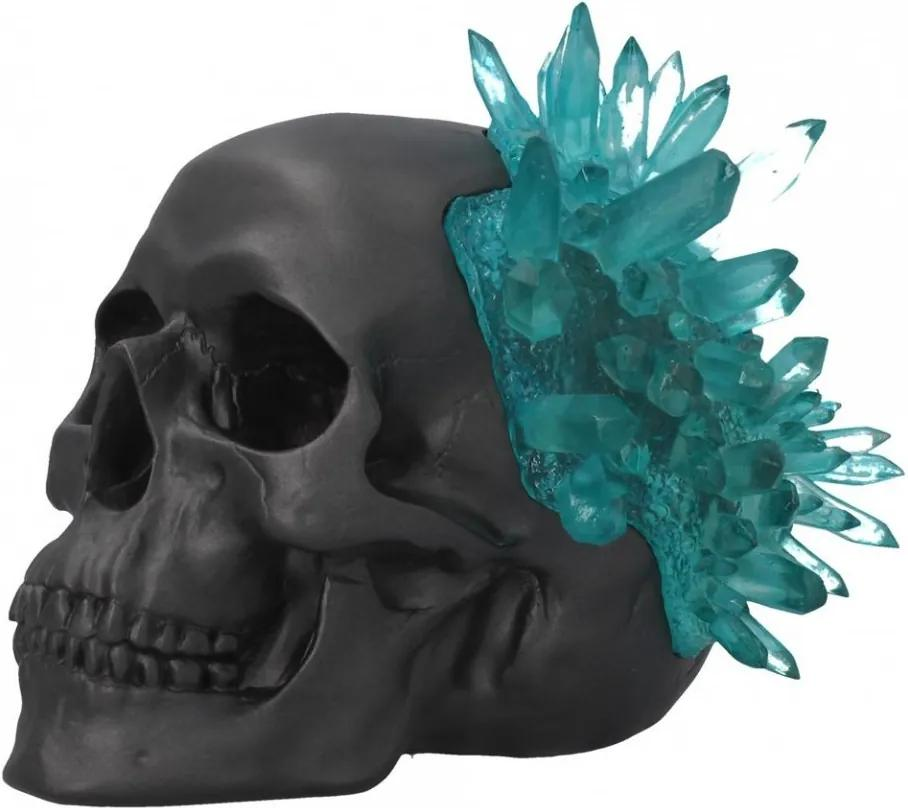 Statueta Craniu de cristal 17.6 cm
