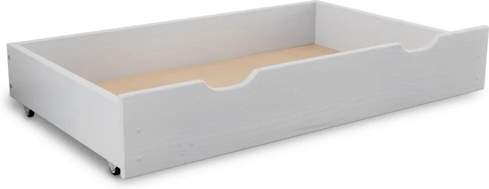 Maxi Drew Cutie depozitare pat 150 cm, albă