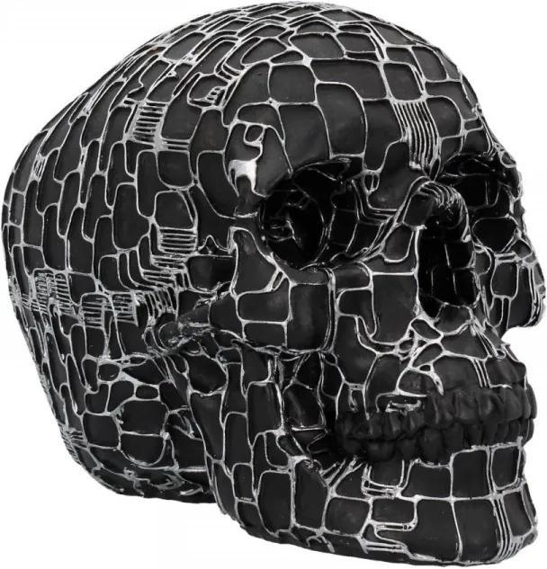 Statueta craniu Retea neuronala 19 cm