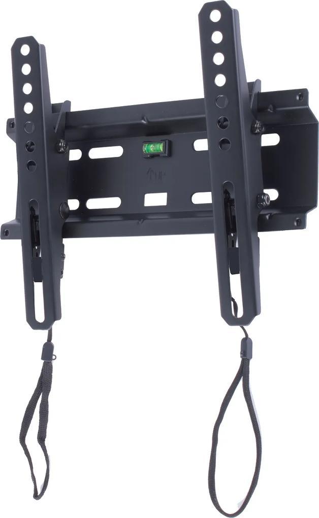 Suport TV LCD de perete 13  -43   inclinabil cu snur Well